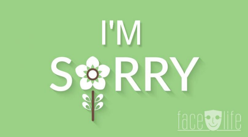 I am Sorry - A Poem